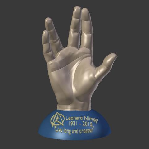 Capture d'écran 2016-12-13 à 10.33.05.png Download free STL file Leonard Nimoy Memorial Print. • 3D printing model, Geoffro