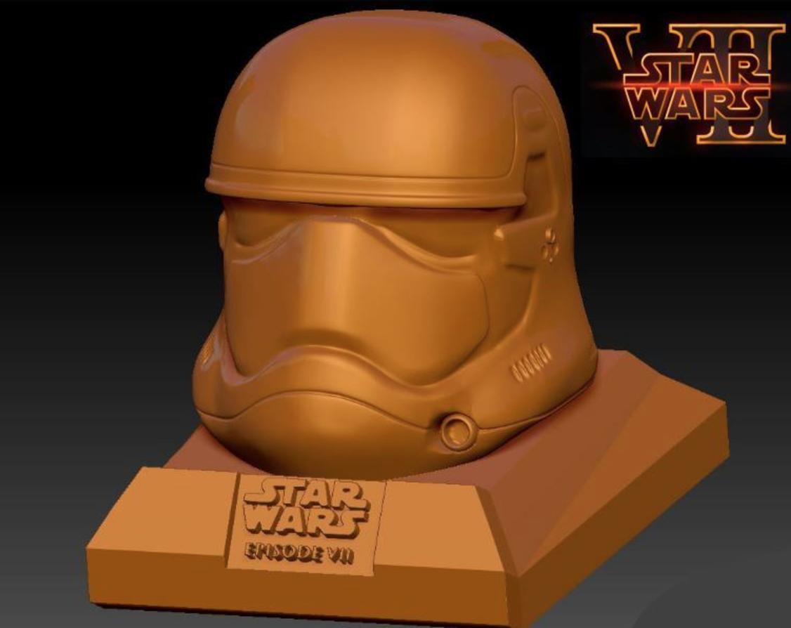 Capture d'écran 2016-12-13 à 10.29.33.png Download free STL file Star Wars Ep7 New Storm Trooper Helmet • 3D printer object, Geoffro