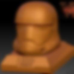 Download free 3D print files Star Wars Ep7 New Storm Trooper Helmet, Geoffro