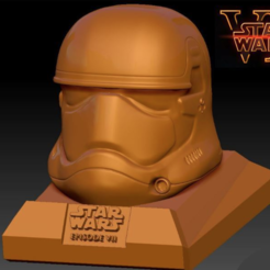 Free 3d printer files Star Wars Ep7 New Storm Trooper Helmet, Geoffro