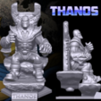 Download free 3D printing files  Thanos Figurine, Geoffro