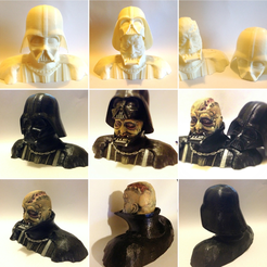 Free 3D printer model Darth Vader Reveal Bust, Geoffro