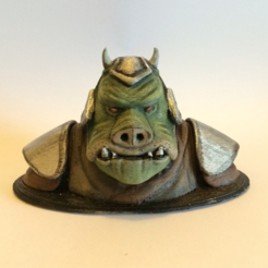 Free 3D printer model Gamorrean Guard Sculpt, Geoffro