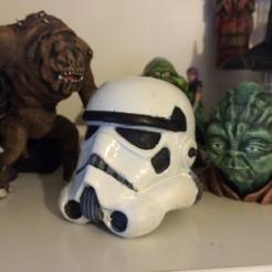 Descargar Modelos 3D para imprimir gratis StormTrooper Esculptado, Geoffro