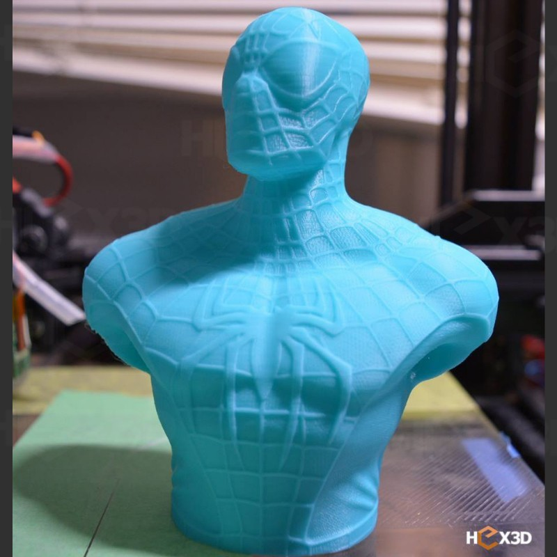 ssf.jpg Download STL file Spiderman Bust - Easy print, no supports. • Model to 3D print, Geoffro