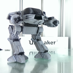 Free 3D printer designs ED-209 Improved, Geoffro