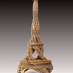 Download free 3D printing designs Twisted Tower, Geoffro