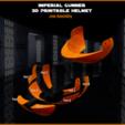 jaw_assembly.png Download STL file Imperial Gunner 3D Printable Helmet • 3D print design, Geoffro