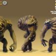 Descargar modelos 3D gratis Rábano de Jabba. (Figura posible), Geoffro