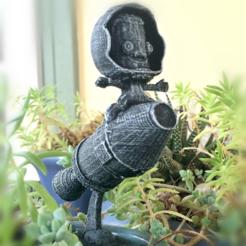 """Free 3D file Kerbal Statue """"Jebediah Free"""", Geoffro"""