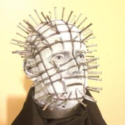 Free STL files Pinhead Bust (Hellraiser), Geoffro