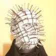 Download free STL file Pinhead Bust (Hellraiser) • 3D printer template, Geoffro