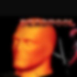 Descargar modelo 3D gratis Cabeza de Deadpool (HD), Geoffro