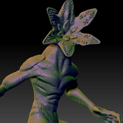 Capture d'écran 2018-01-03 à 10.23.42.png Download free STL file Demogorgon remixed. • Design to 3D print, Geoffro