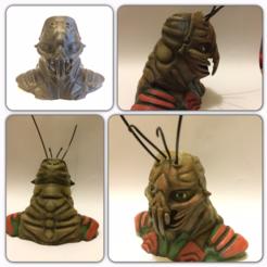 Download free 3D printer designs District 9 Prawn Bust, Geoffro