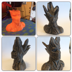 Free 3D model Groot resculpt HD (52mb), Geoffro