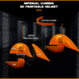 partnames.png Download STL file Imperial Gunner 3D Printable Helmet • 3D print design, Geoffro