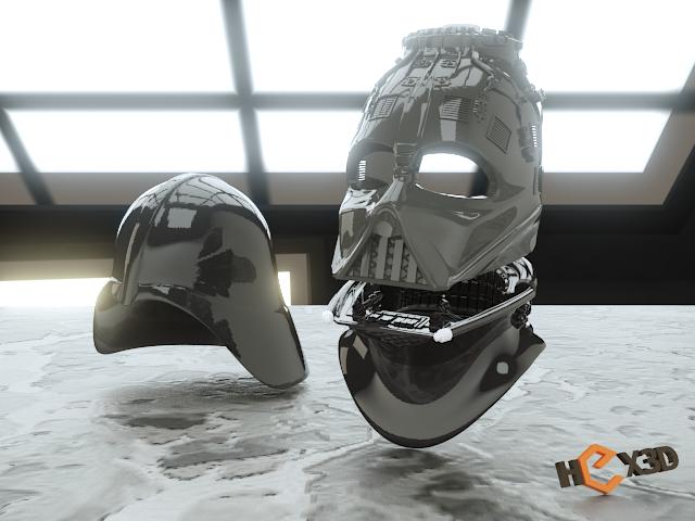 whole.png Descargar archivo STL Darth Vader - Casco de Revelación 3D para Imprimir • Diseño para imprimir en 3D, Geoffro