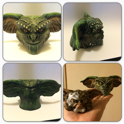 Download free 3D printer files Gremlin Resculpt (lower res version), Geoffro