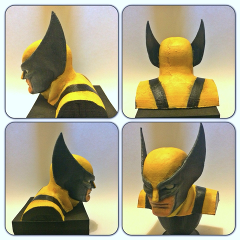 Download free 3D printer model Wolverine Re-Sculpt, Geoffro