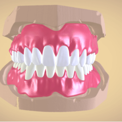 Download OBJ file Full Dentures with Many Production Options  • 3D printing object, LabMagic3DCAD