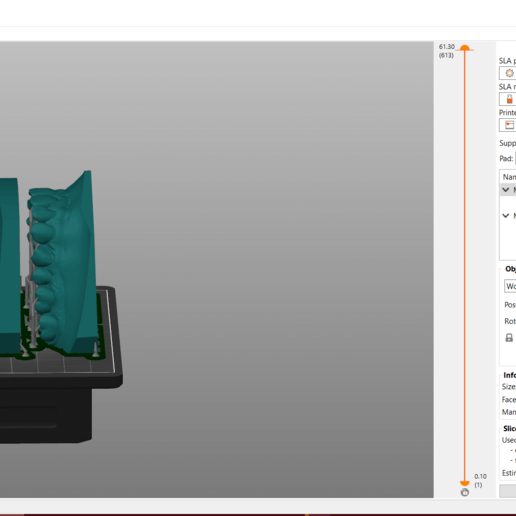 Screenshot_5.png Download OBJ file Digital Orthodontic Study Models with Virtual Bases • Design to 3D print, LabMagic3DCAD
