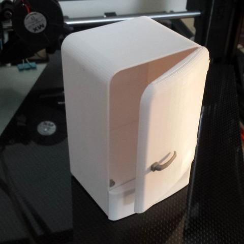 Download STL file Vintage fridge - antique refrigerator • 3D printing design, nicolasreynoso