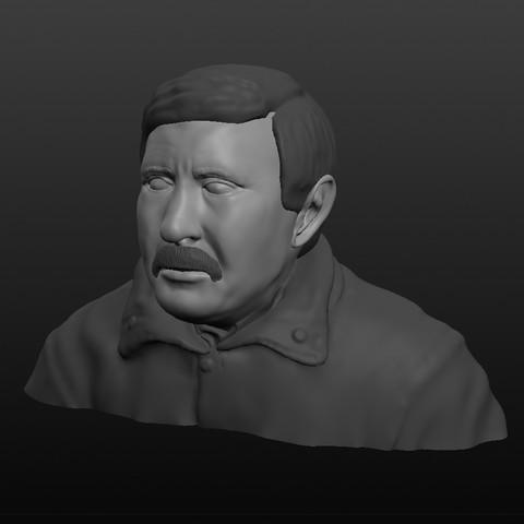 Fichier 3D Attendant de boludos - Crónica TV - qui sait que vous papa, nicolasreynoso