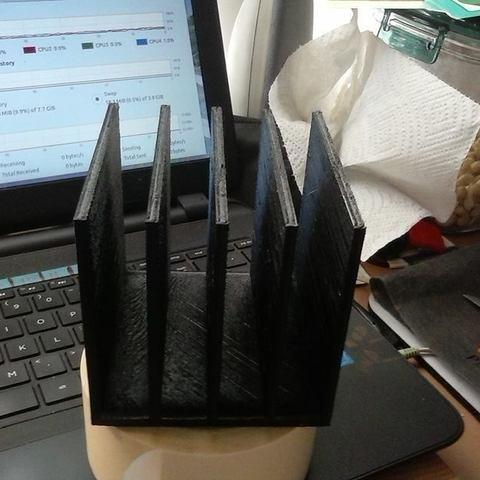 Download STL file Paper Holder • 3D printing model, LynneStevens