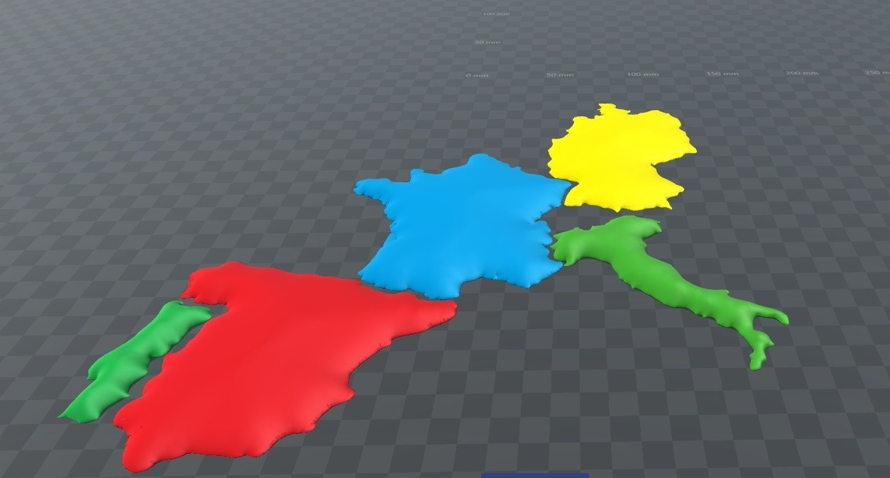 europa.jpg Download free STL file 3D map, puzzle geography • 3D print design, FORMAT3D