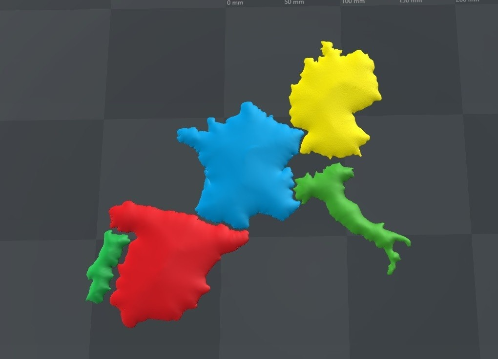 europa_1.jpg Download free STL file 3D map, puzzle geography • 3D print design, FORMAT3D