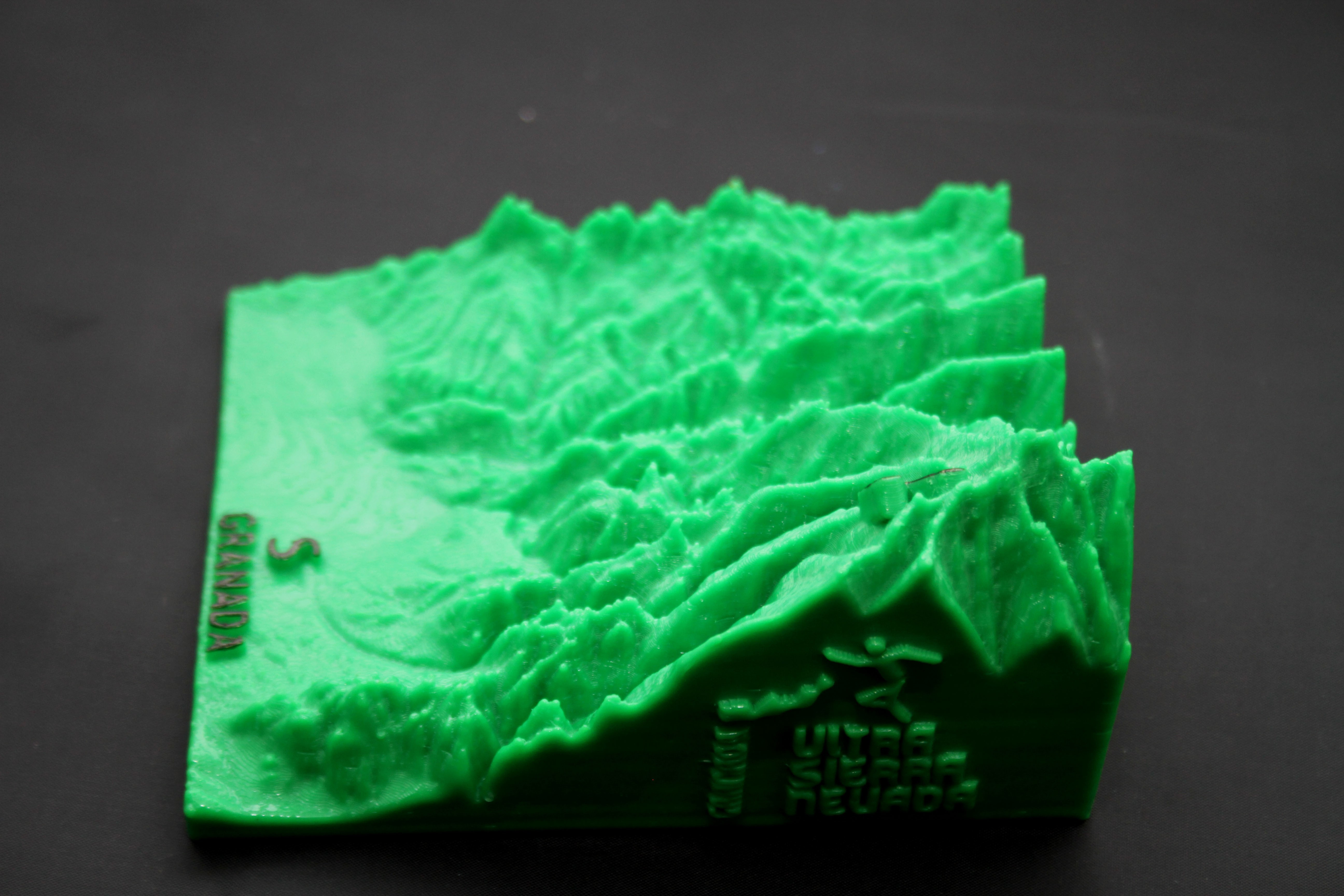 IMG_7864b.jpg Download free STL file Ultra Sierra Nevada Running mountain • 3D print design, FORMAT3D