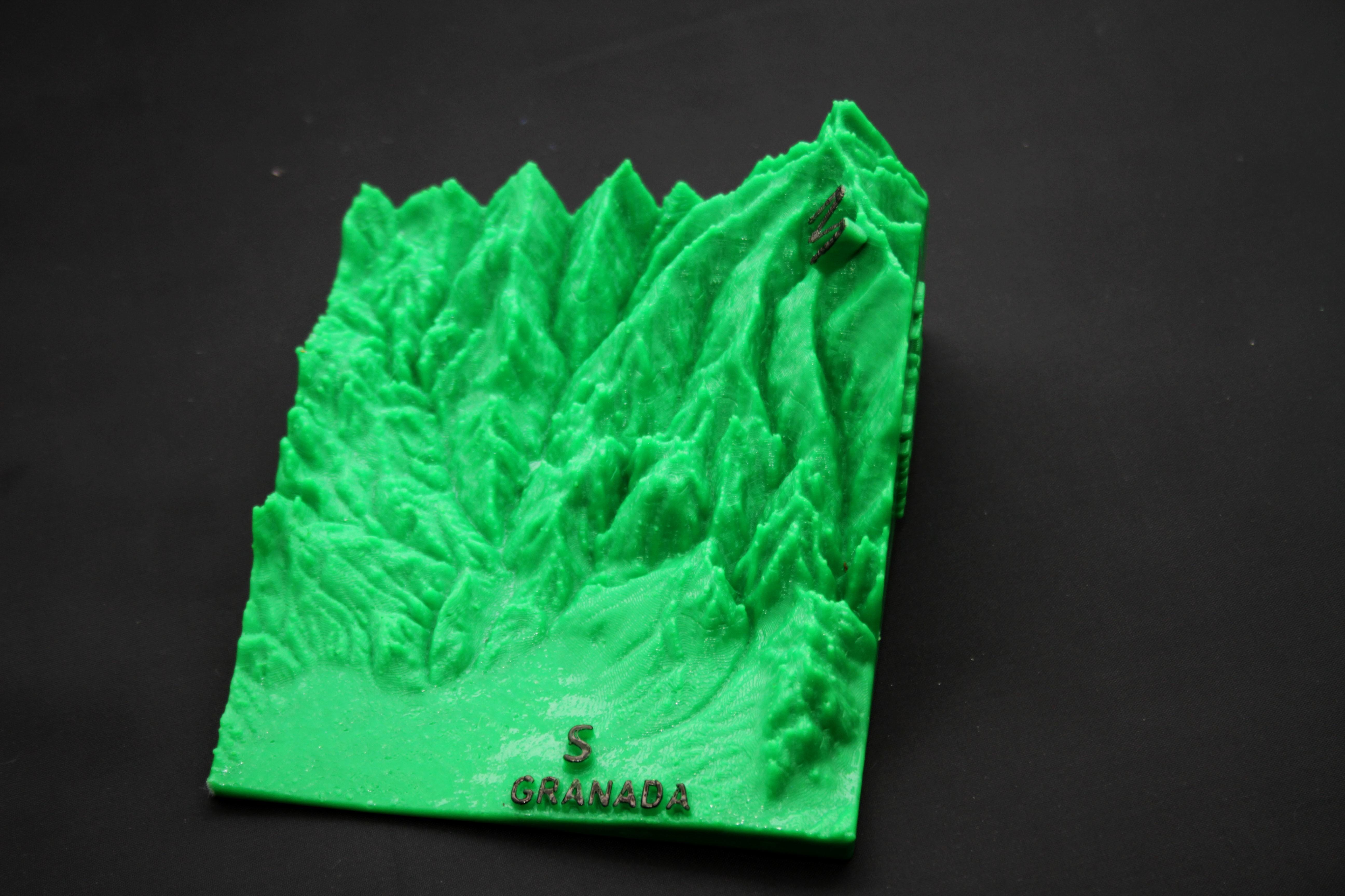 IMG_7861b.jpg Download free STL file Ultra Sierra Nevada Running mountain • 3D print design, FORMAT3D