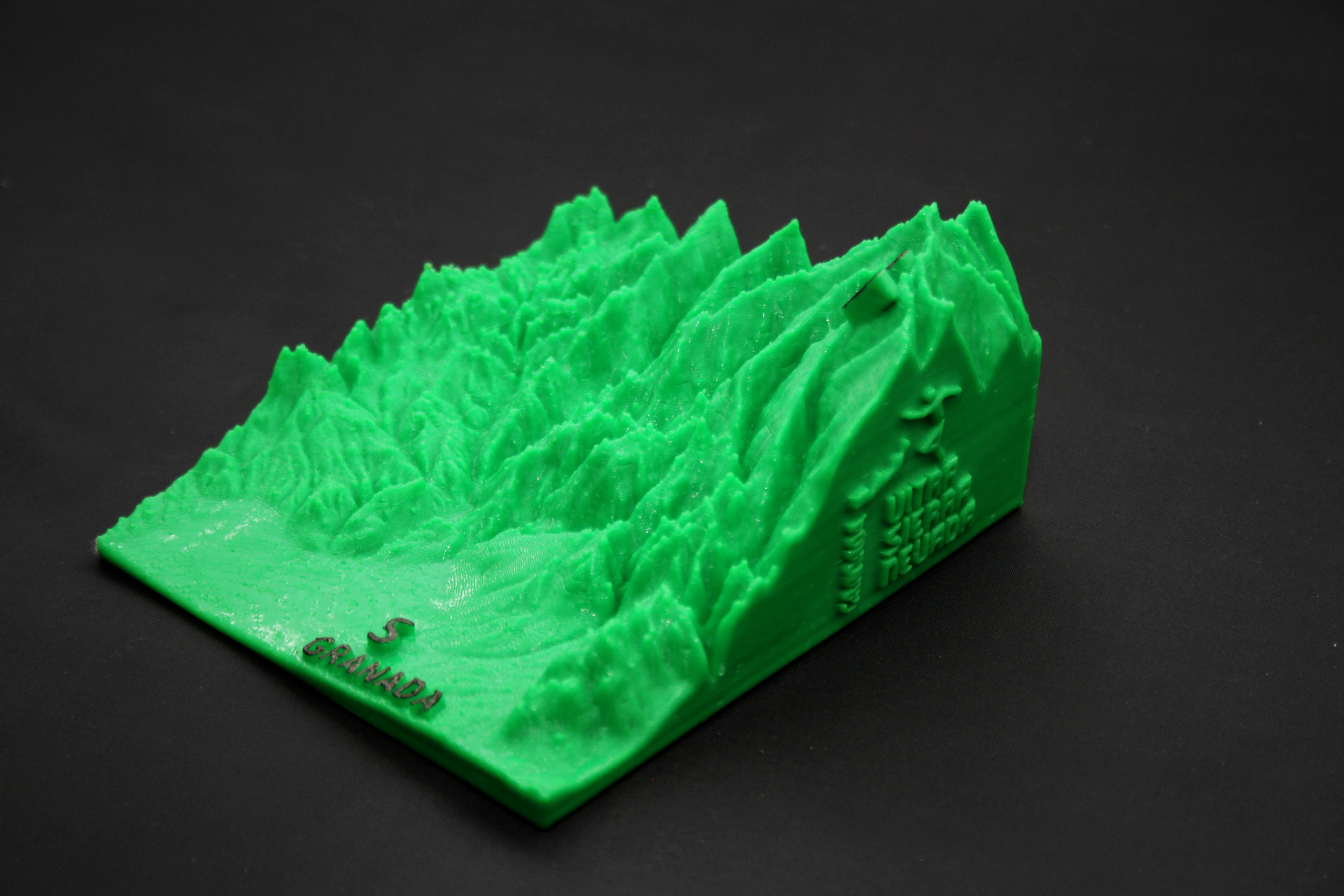 IMG_7859b.jpg Download free STL file Ultra Sierra Nevada Running mountain • 3D print design, FORMAT3D