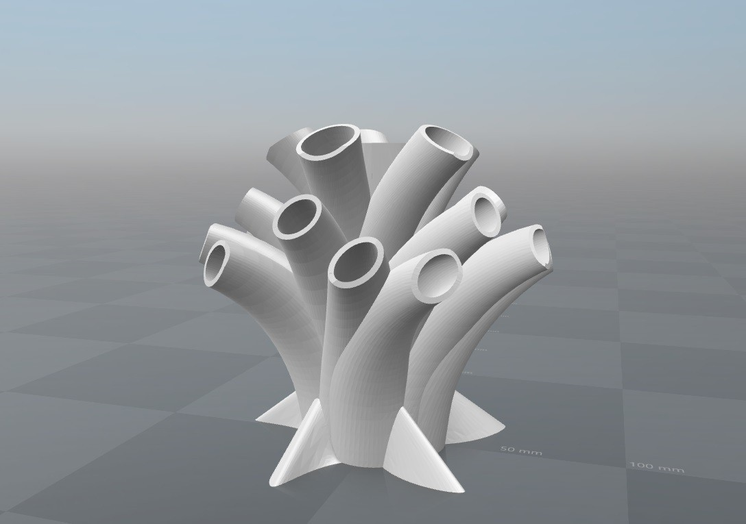 porta lapices.jpg Download free STL file Portalapices, Pen Holder • 3D print model, FORMAT3D