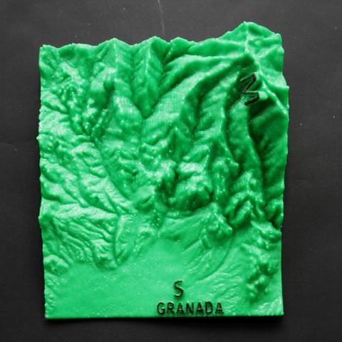 IMG_7872b.jpg Download free STL file Ultra Sierra Nevada Running mountain • 3D print design, FORMAT3D