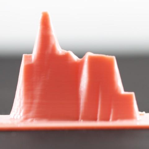 Free Peñon Ifac, Mountain 3D printer file, FORMAT3D