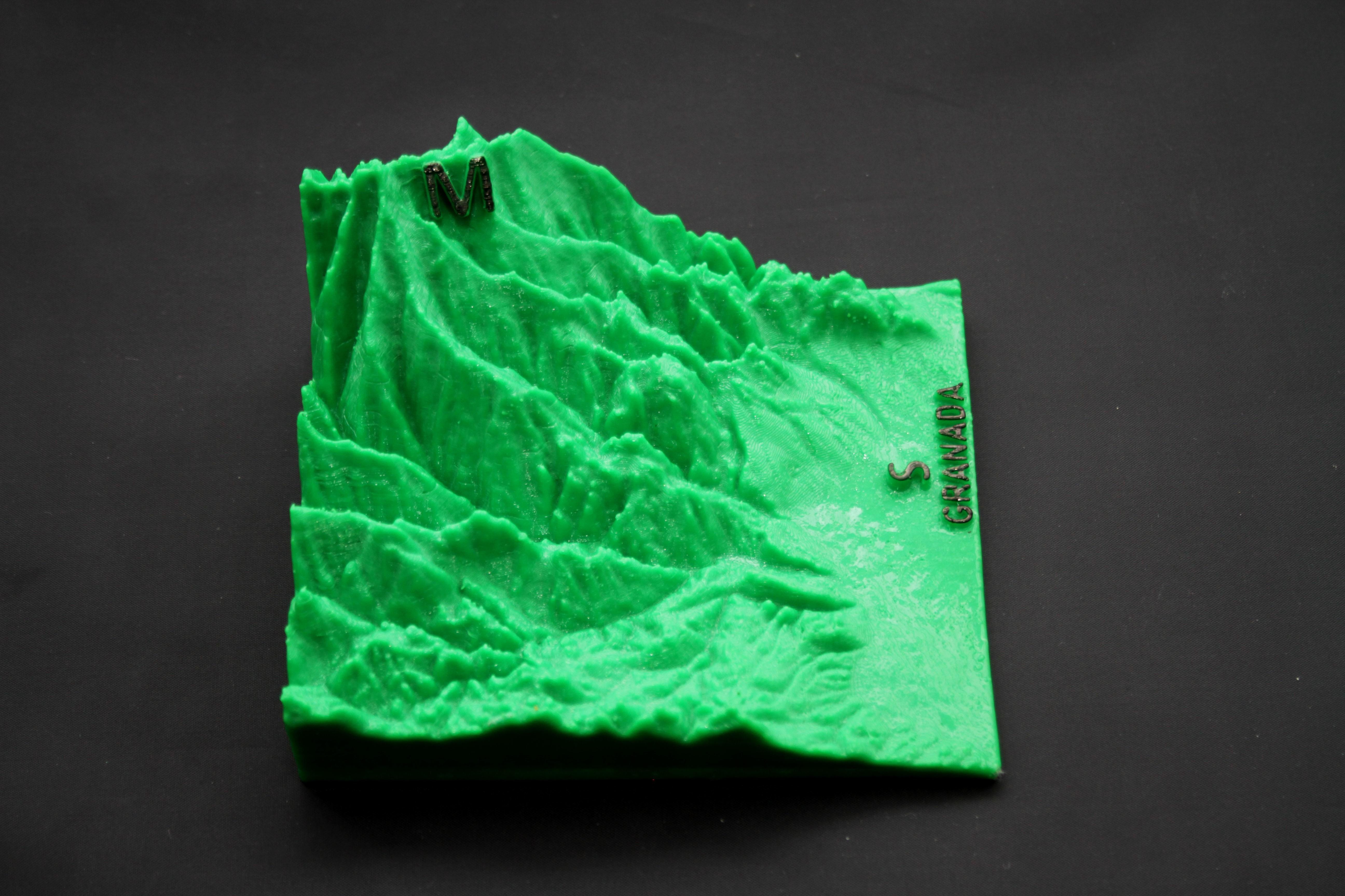 IMG_7868b.jpg Download free STL file Ultra Sierra Nevada Running mountain • 3D print design, FORMAT3D
