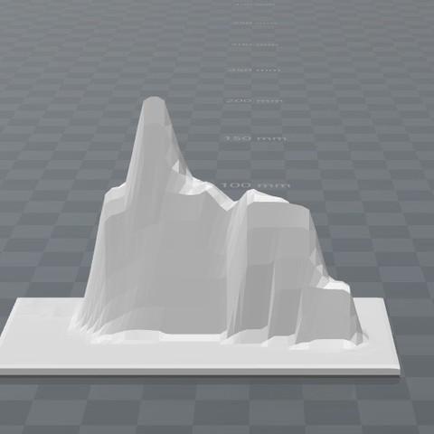 peñon_2.jpg Download free STL file Peñon Ifac, Mountain • 3D printer object, FORMAT3D