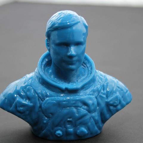 Fichier STL gratuit Buste d'astronaute, FORMAT3D