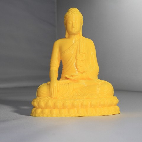 Download free STL file Thailand Buddha • 3D printer model, FORMAT3D