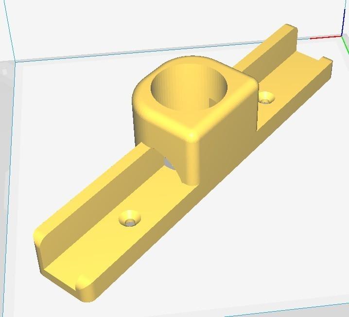 jab quarter-round coping jig2.jpg Download STL file 3/4 Inch Quarter Round Coping Jig (guide for cutting inside corner molding) • Design to 3D print, JAB
