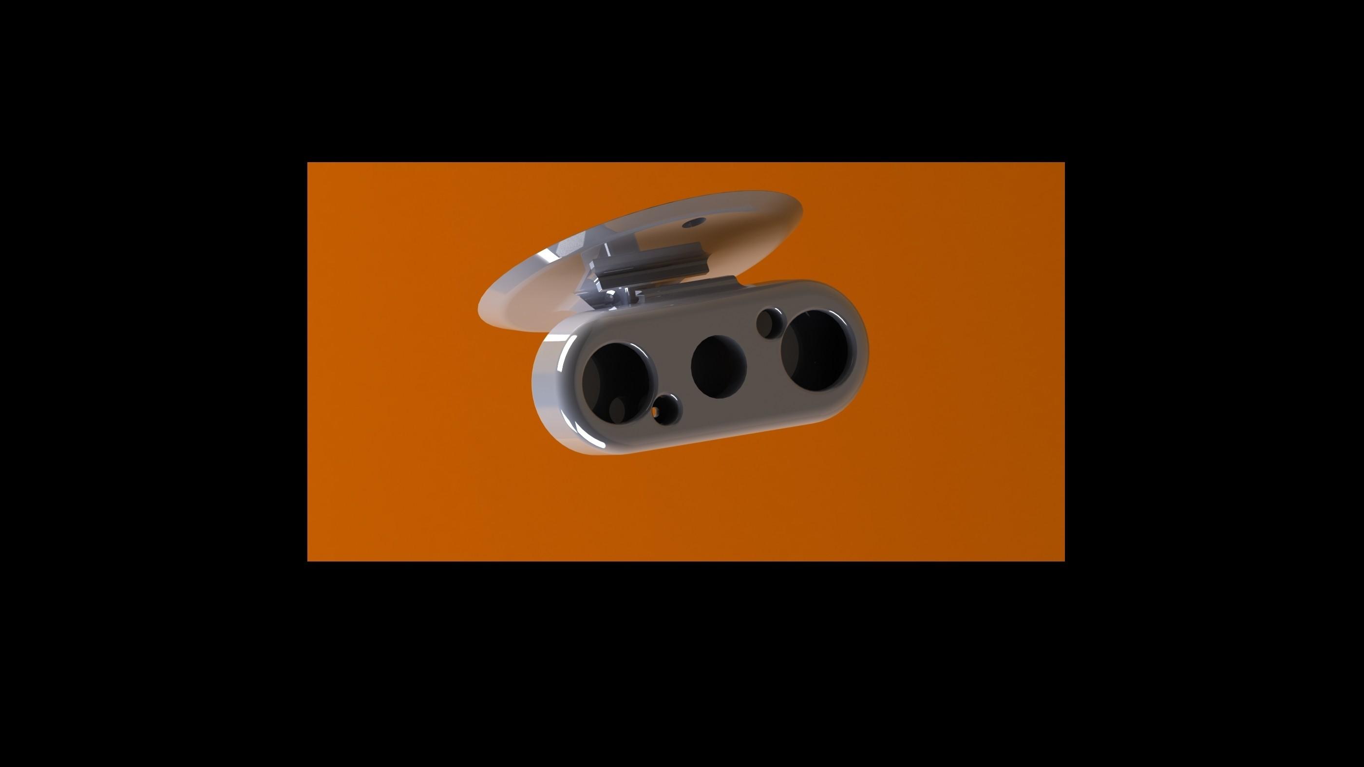cam 1.JPG Download free STL file rpi LED IR camera support • 3D printer model, PierreMaillard