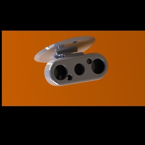 Download free STL rpi LED IR camera support, PierreMaillard