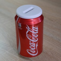 Free stl file Money Box - Coca Cola Can, BambeXo