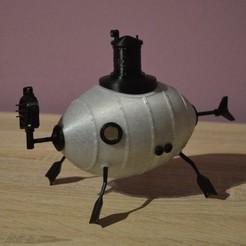 modelo stl gratis Espada Submarina - Jules Verne, BambeXo