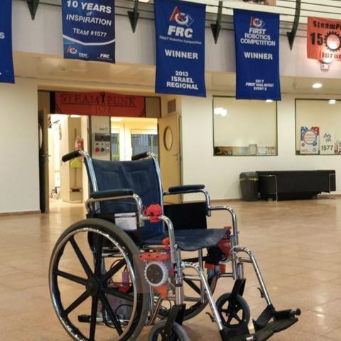 Free stl file Wheelchair Motorization Kit Mk2, Yuval_Dascalu