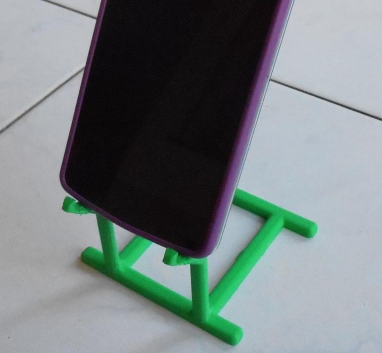 Capture d'écran 2016-12-14 à 16.37.21.png Download free STL file Phone Holder • Model to 3D print, Yuval_Dascalu