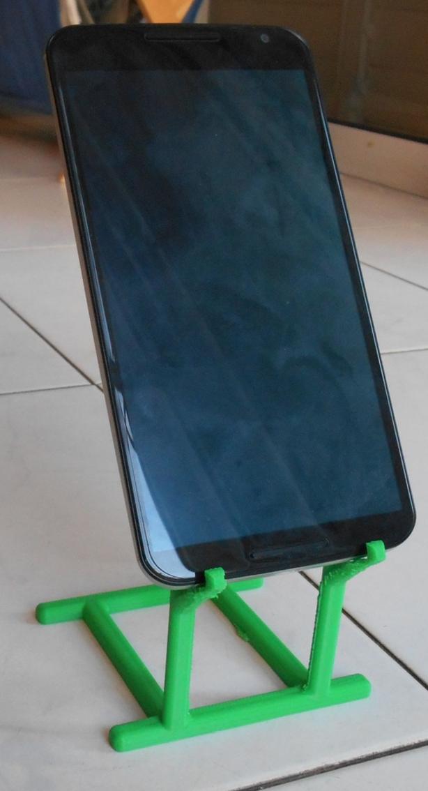 Capture d'écran 2016-12-14 à 16.37.35.png Download free STL file Phone Holder • Model to 3D print, Yuval_Dascalu
