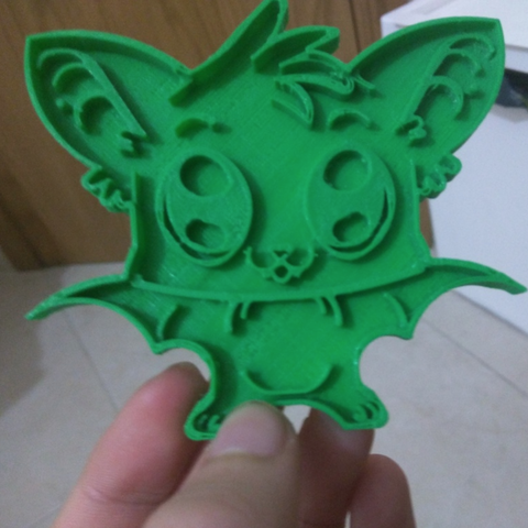 Download free STL file  Detailed Bat Cookie Cutter • 3D printer object, Yuval_Dascalu
